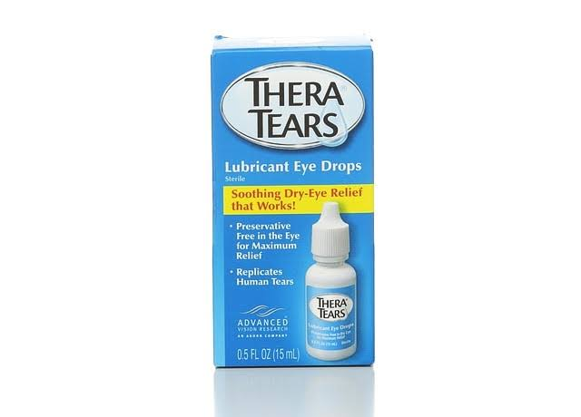 Advanced Vision Research Thera Tears Lubricant Eye Drops - 15ml