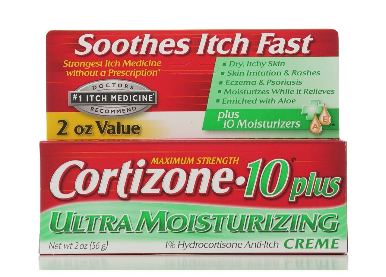 Cortizone 10 Plus Maximum Strength Ultra Moisturizing Creme - 2oz