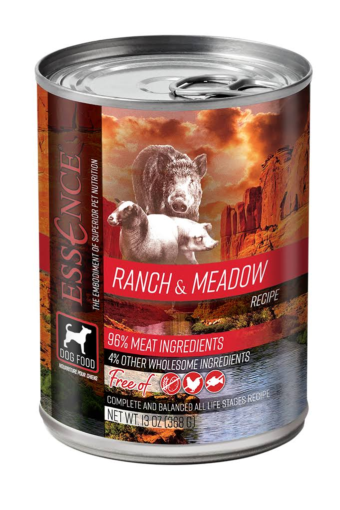Essence Ranch & Meadow Wet Dog Food 13 oz Can