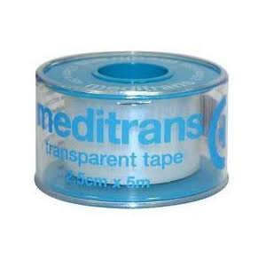 Meditrans Transparent Tape - 2.5cm x 5m