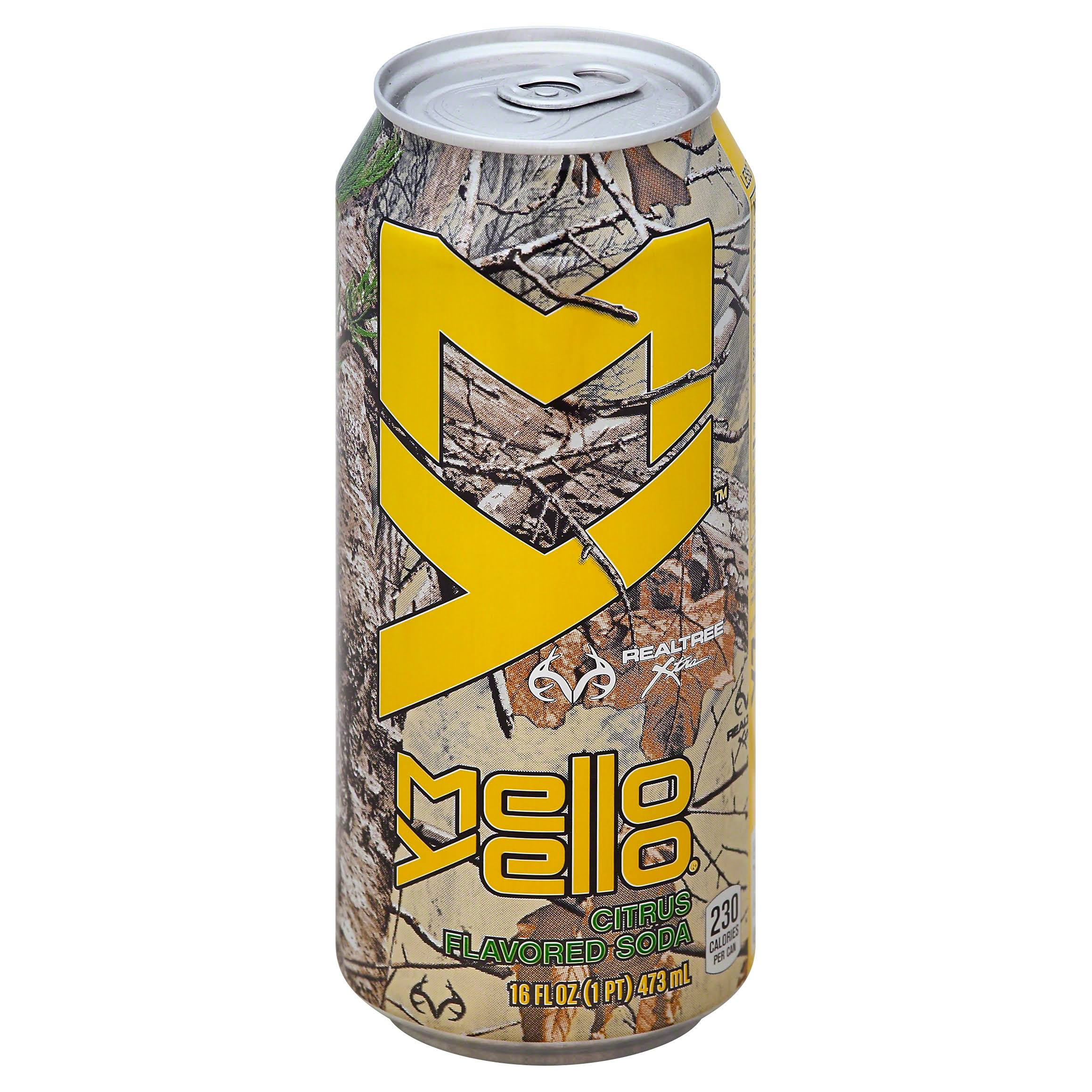 Mello Yello Soda Can - 12oz, 24pk