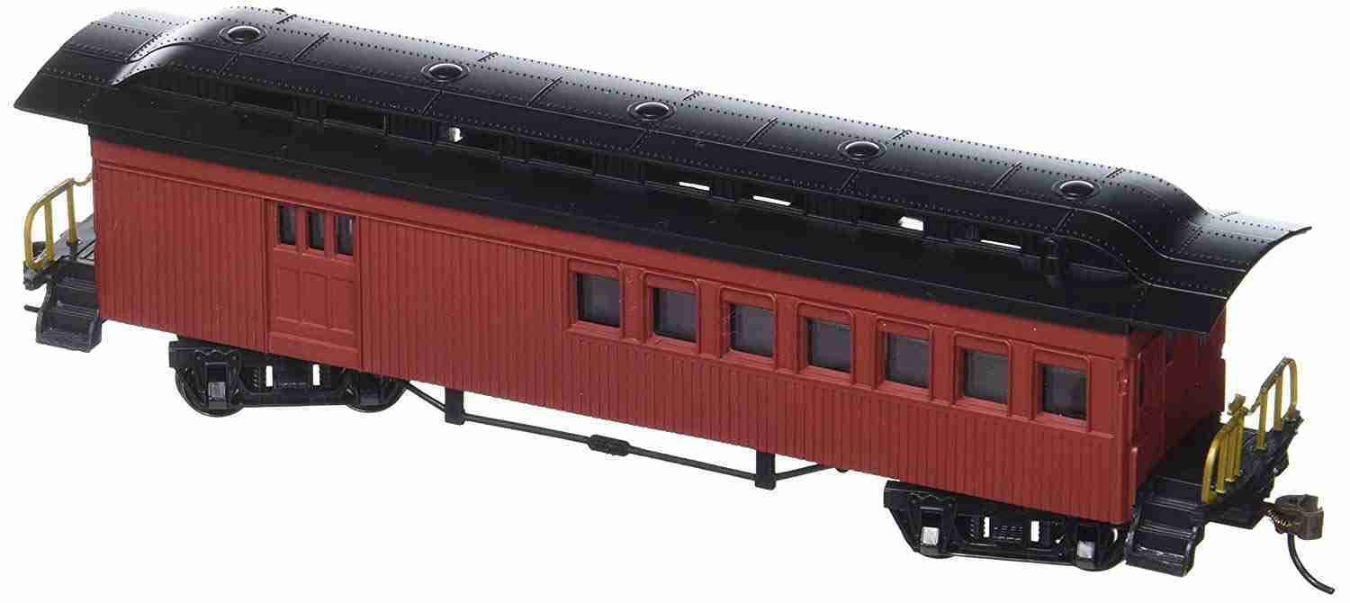 Bachmann Industries 1860-1880 Passenger Cars Combine Painted