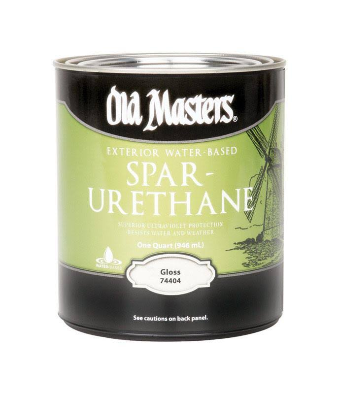Old Masters Spar-Urethane Paint - 74404 Gloss