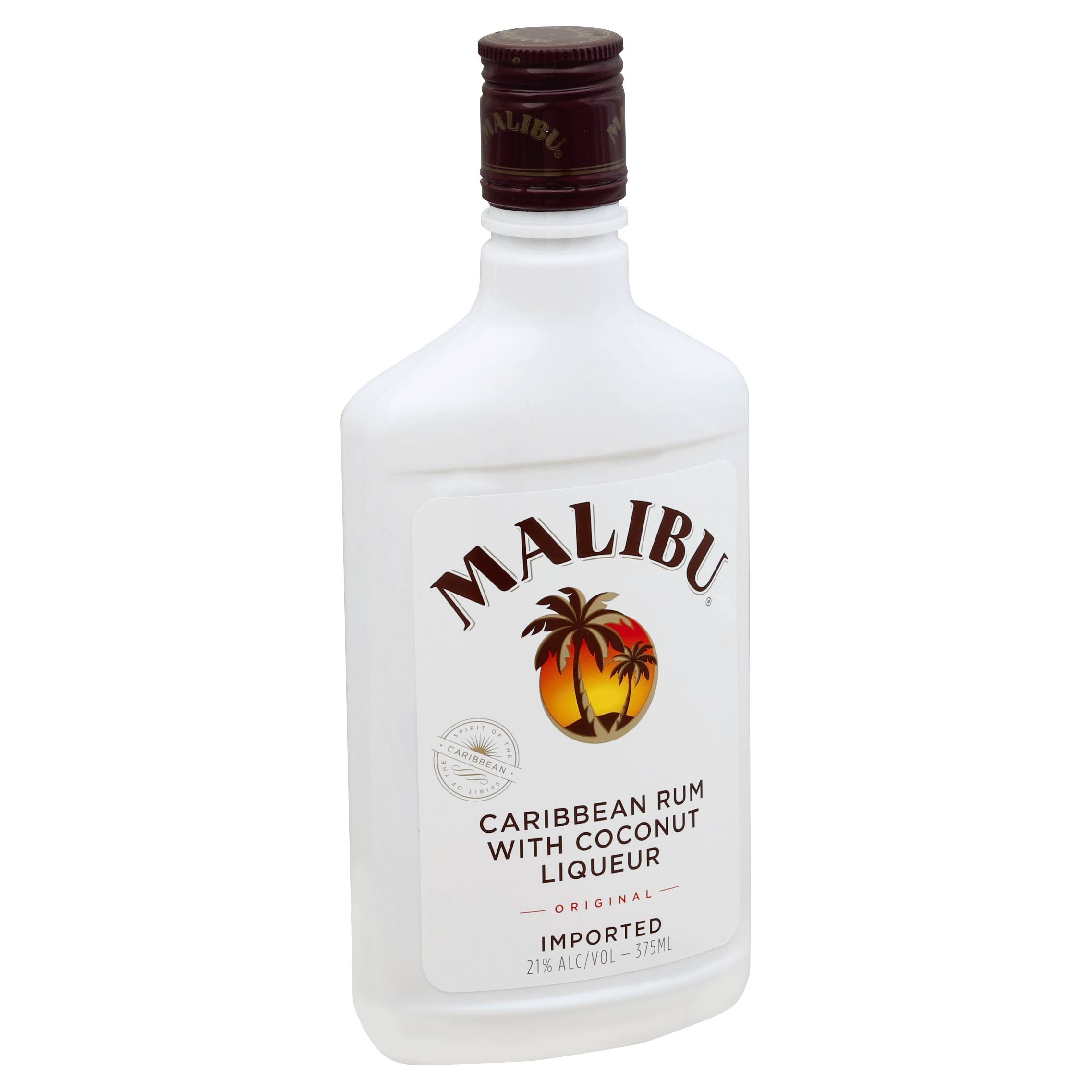 Malibu Original Coconut Rum - 375 ml bottle
