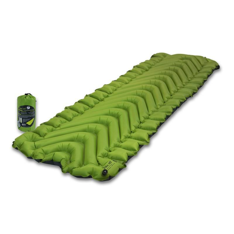 Klymit Static V2 Inflatable Sleeping Pad - Green