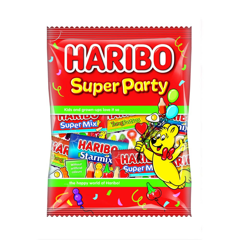 Haribo Super Party Multipack - 176g