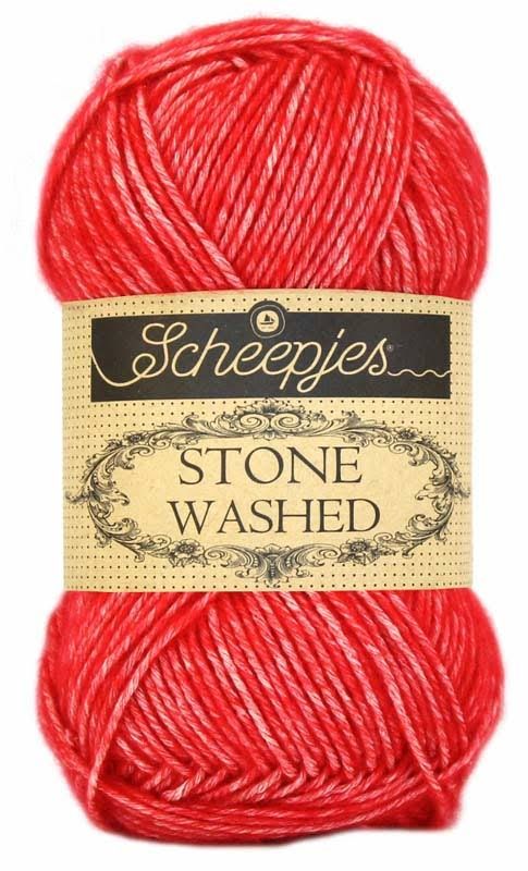 Scheepjes Stone Washed Yarn Mix - 823 Carnelian