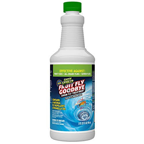 Green Gobbler Fruit Fly Goodbye Drain Fly Treatment - 946ml