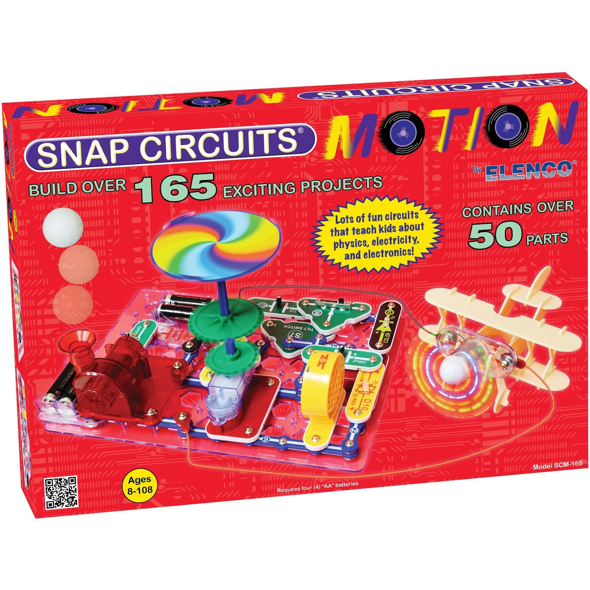 Elenco Snap Circuits Motion Kit