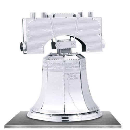 Fascinations Metal Earth Liberty Bell 3d Metal Model Kit