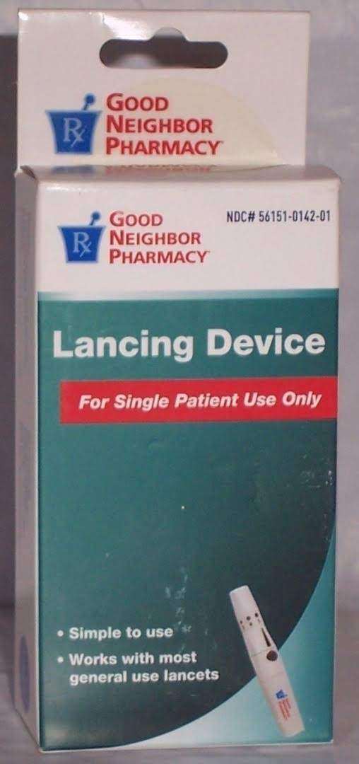 GNP Good Neighbor Pharmacy Lancing Device