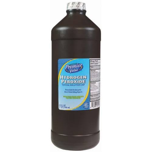 Premier Value Hydrogen Peroxide 3% - 32oz