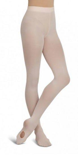Capezio Ultra Soft Transition Tights - Pink, Small-Medium