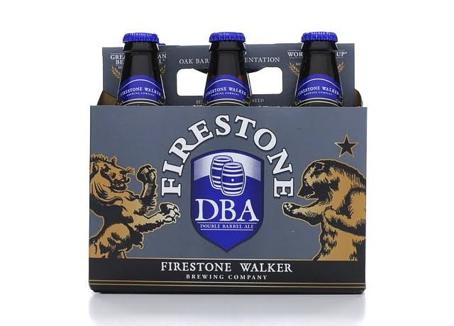 Firestone Walker Ale, Double Barrel - 6 bottles