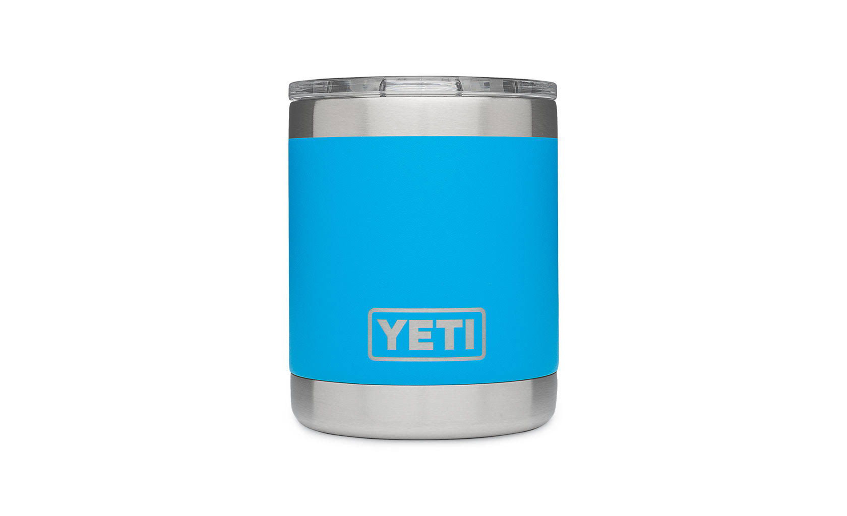 Yeti Rambler Lowball Stainless Steel Cup - with Lid, 10oz