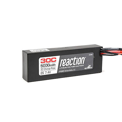 Dynamite Reaction Battery - 7.4V, 5000mAh