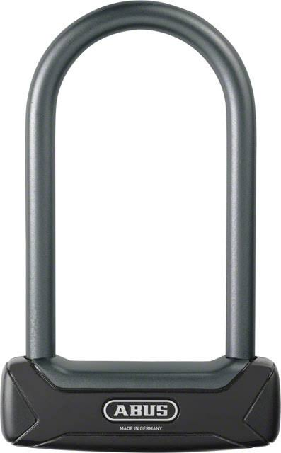 "Abus Granit 640 Keyed Mini U Lock - 6"" Shackle, Black"