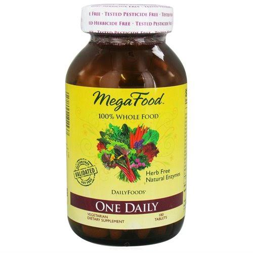 MegaFood One Daily Whole Food Multivitamin - 180ct