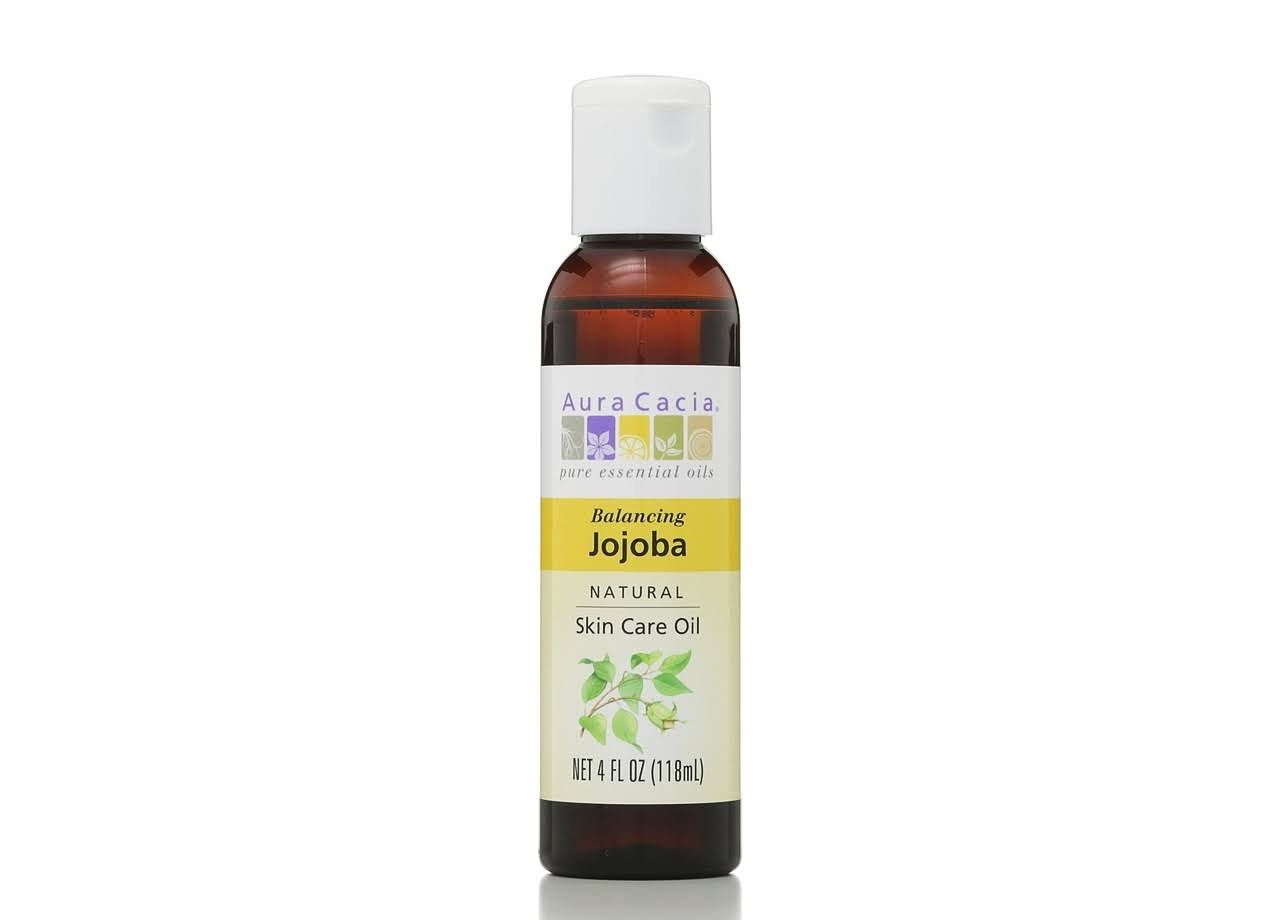 Aura Cacia Natural Skin Care Oil - Jojoba, 4oz
