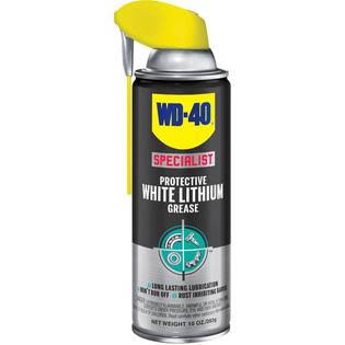 WD 40 Specialist Lithium Grease Spray - White, 10oz