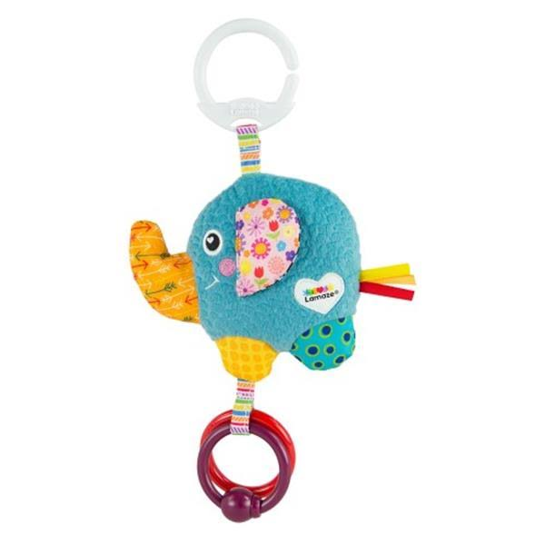 Lamaze Mini Clip & Go Eloy The Elephant