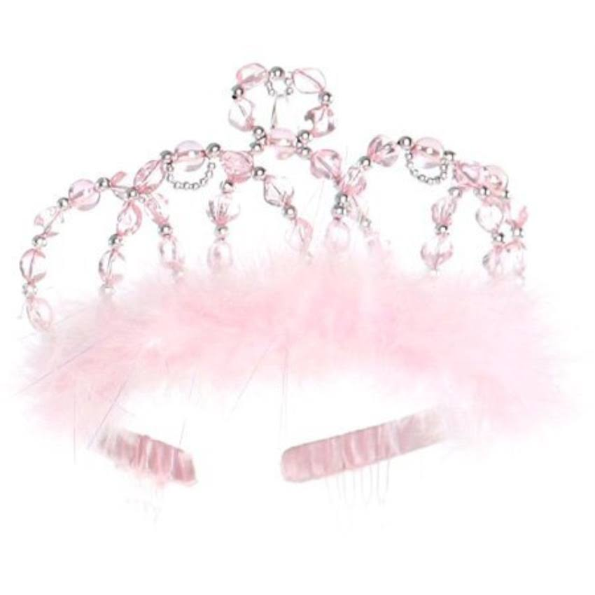 Creative Education Great Pretenders Princess Tiara - Pink, Silver