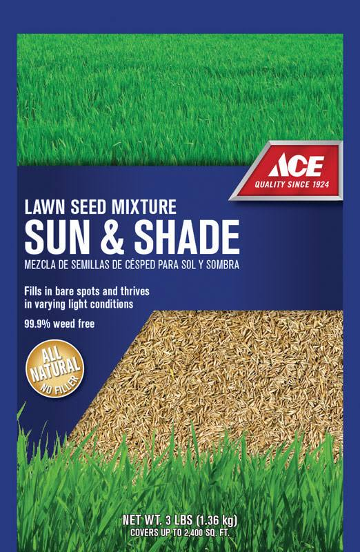 Ace N74262 Sun and Shade Grass Seed