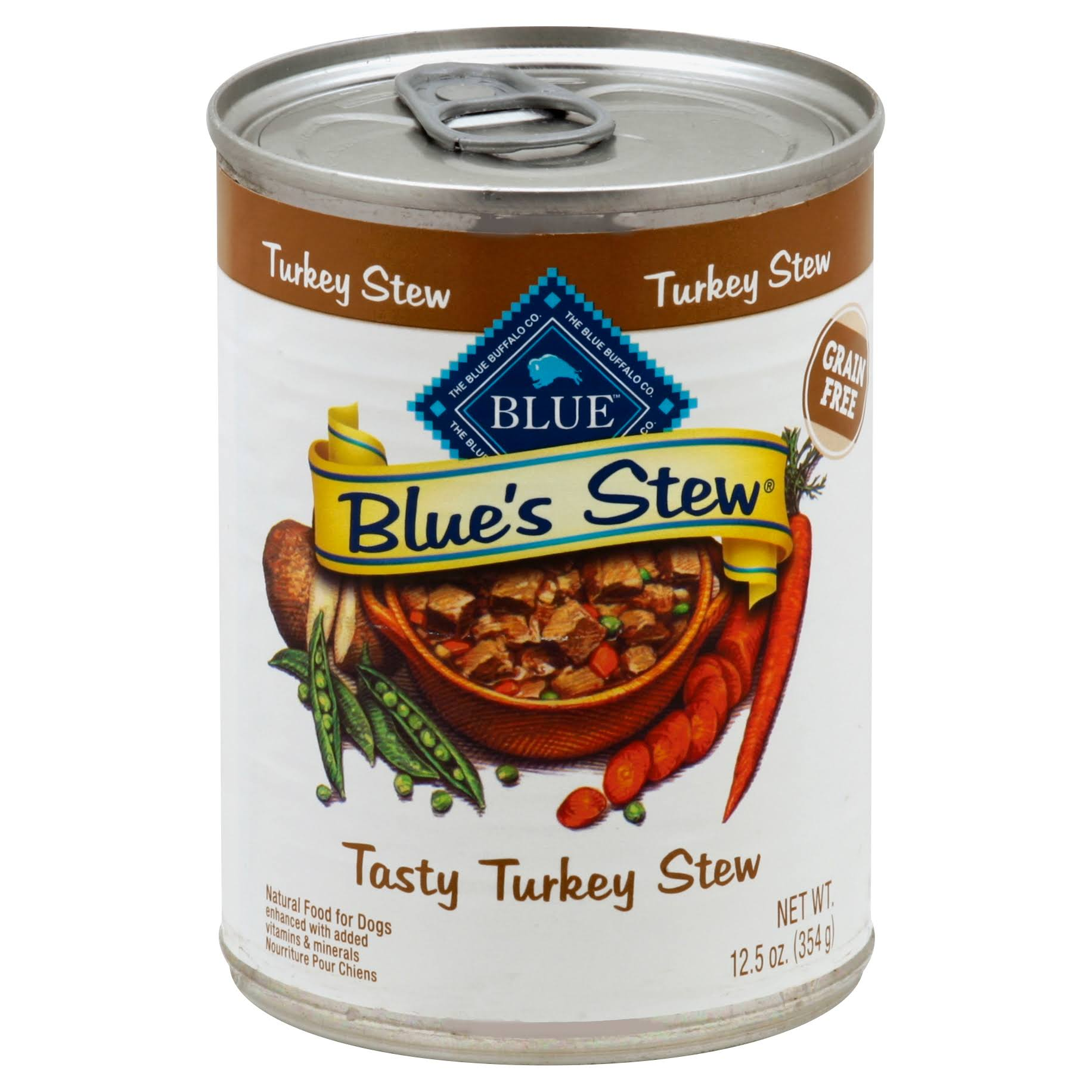 Blue Blue's Stew Dog Food - Tasty Turkey Stew