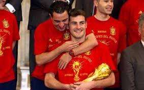 Íker Casillas y Xavi Hernández premio príncipe de Asturias