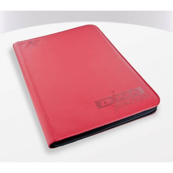 Ultimate Guard 9 Pocket XenoSkin ZipFolio - Red