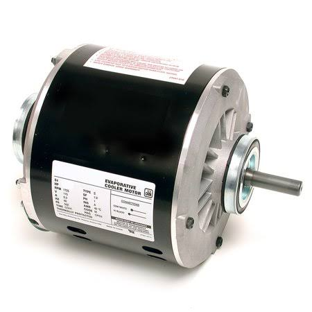 Dial 2202 Permanently Lubricated Copper Wound Motor - 1/3hp, 115v, 2 Speed