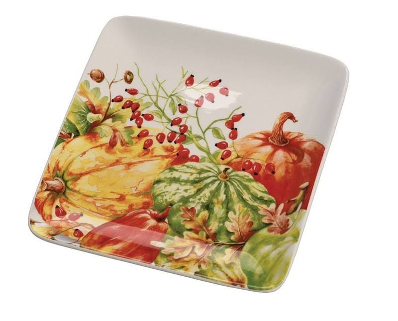 Boston International Calabaza Plate - 4 Plates