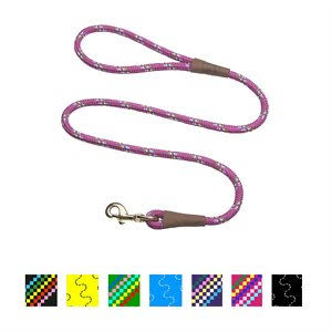"Mendota Pet Snap Leash - 1/2"" x 4'"
