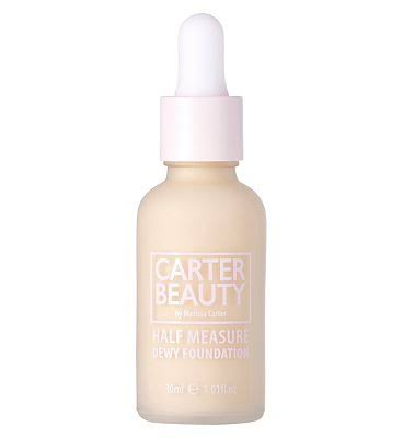 Carter Beauty Half Measure Dewy Foundation - Shortbread