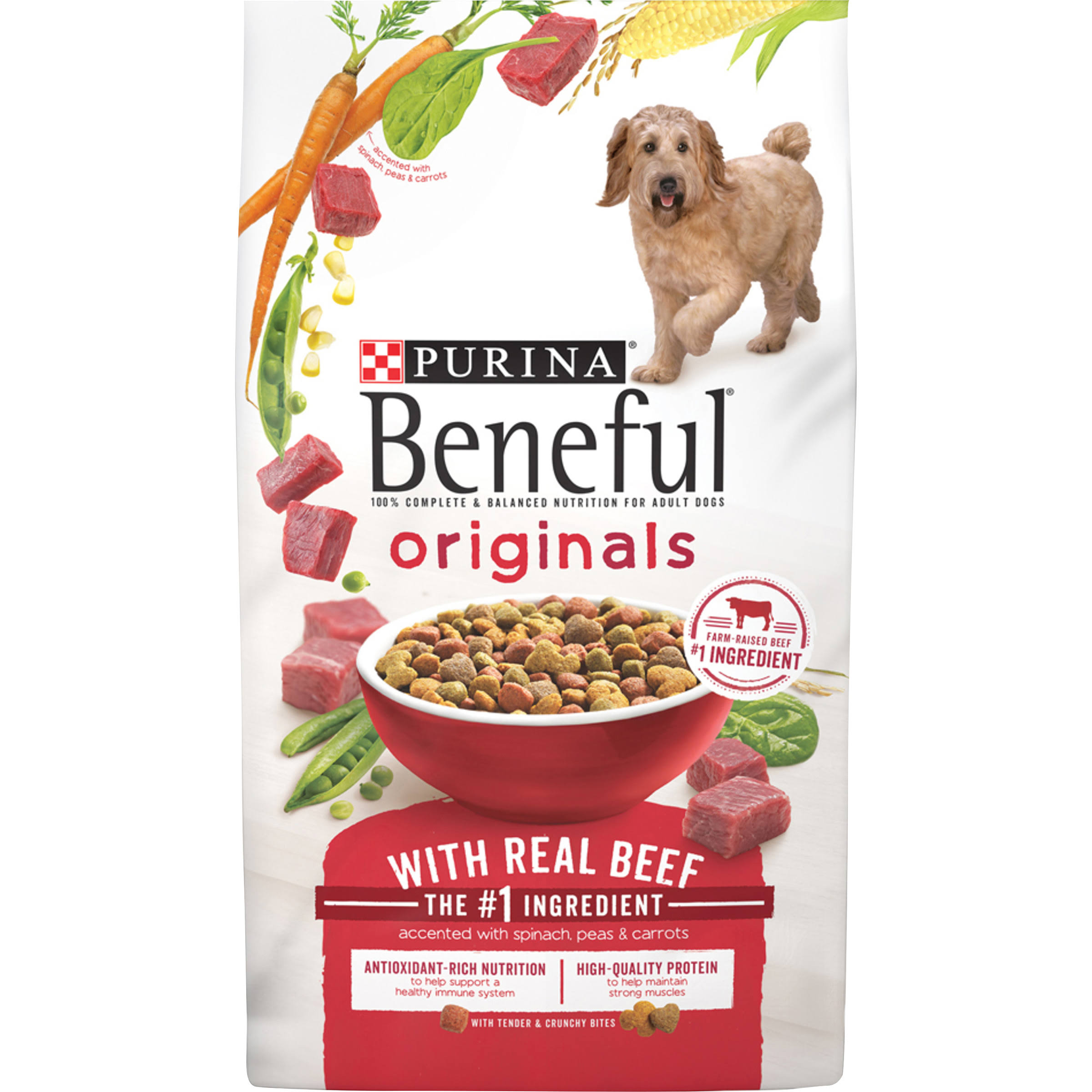 Purina Beneful Originals Dog Food - 6.3lb, Real Beef