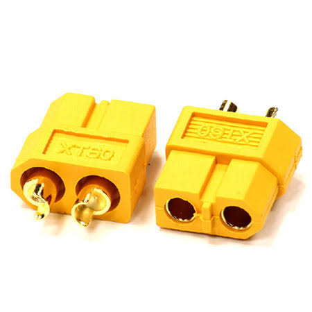 Integy - XT60 Connector (2) Female 3.5mm - C24548
