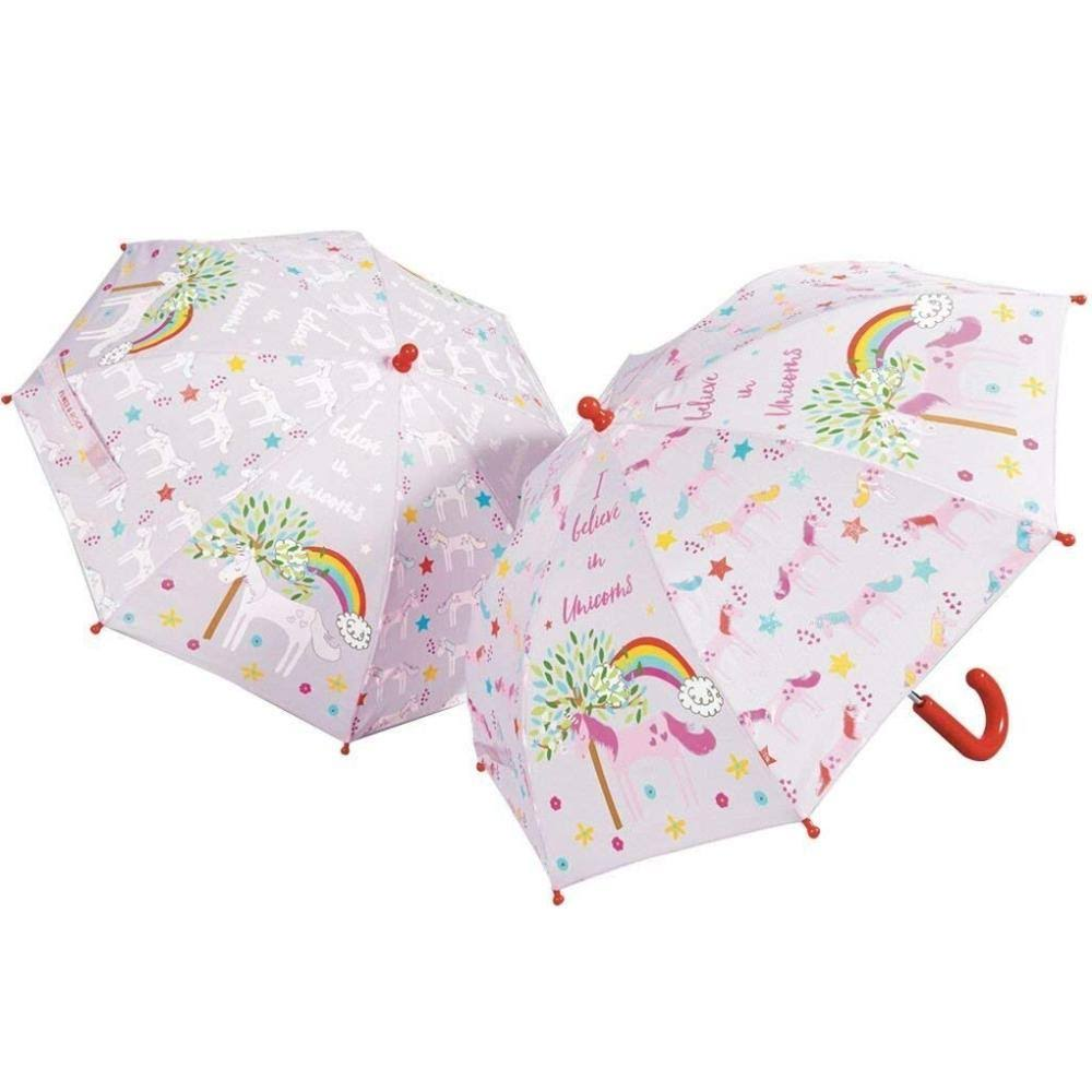 Floss and Rock Unicorn Colour Changing Umbrella - 57cm x 67cm