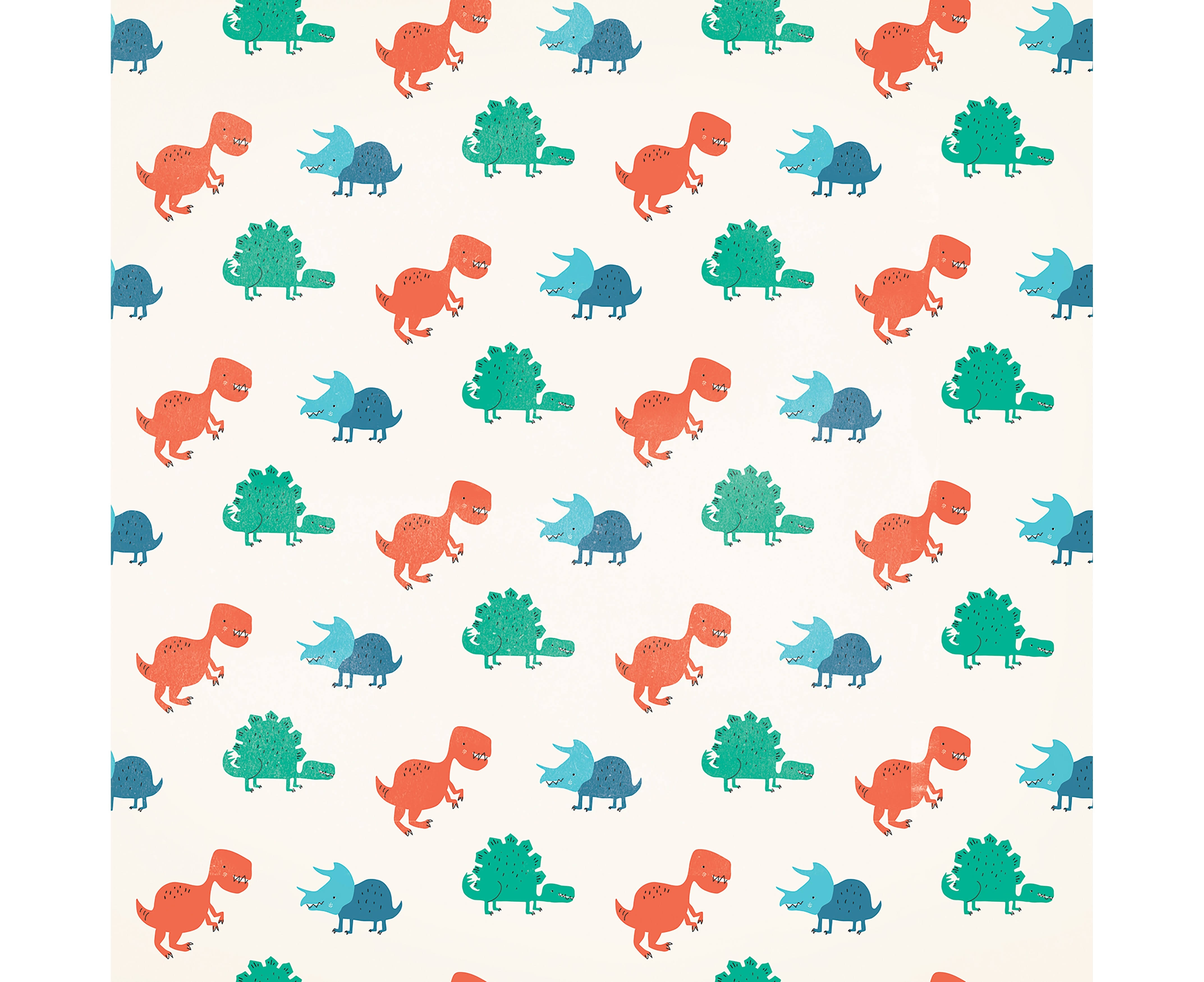 "American Crafts Animal Single-Sided Cardstock 12""X12""-Dinosaurs"