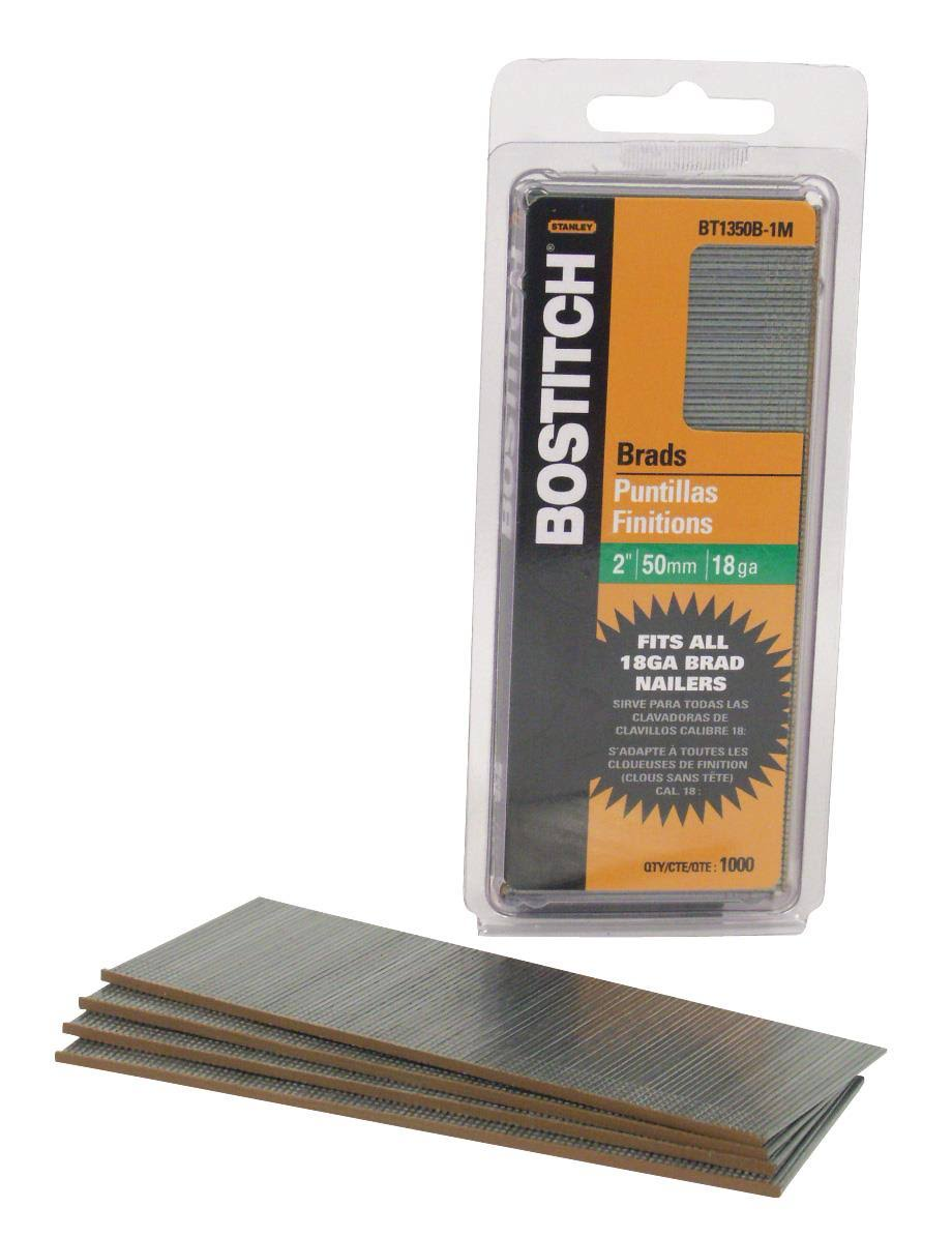 "Stanley Bostitch Finishing Pneumatic Nails - 2"", 1000ct"