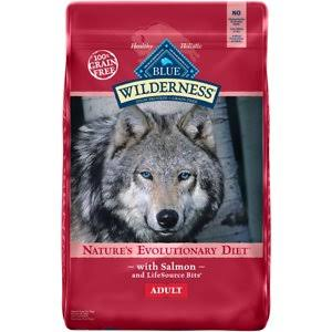 Blue Buffalo Wilderness Dry Dog Food - Salmon Recipe, 11lbs