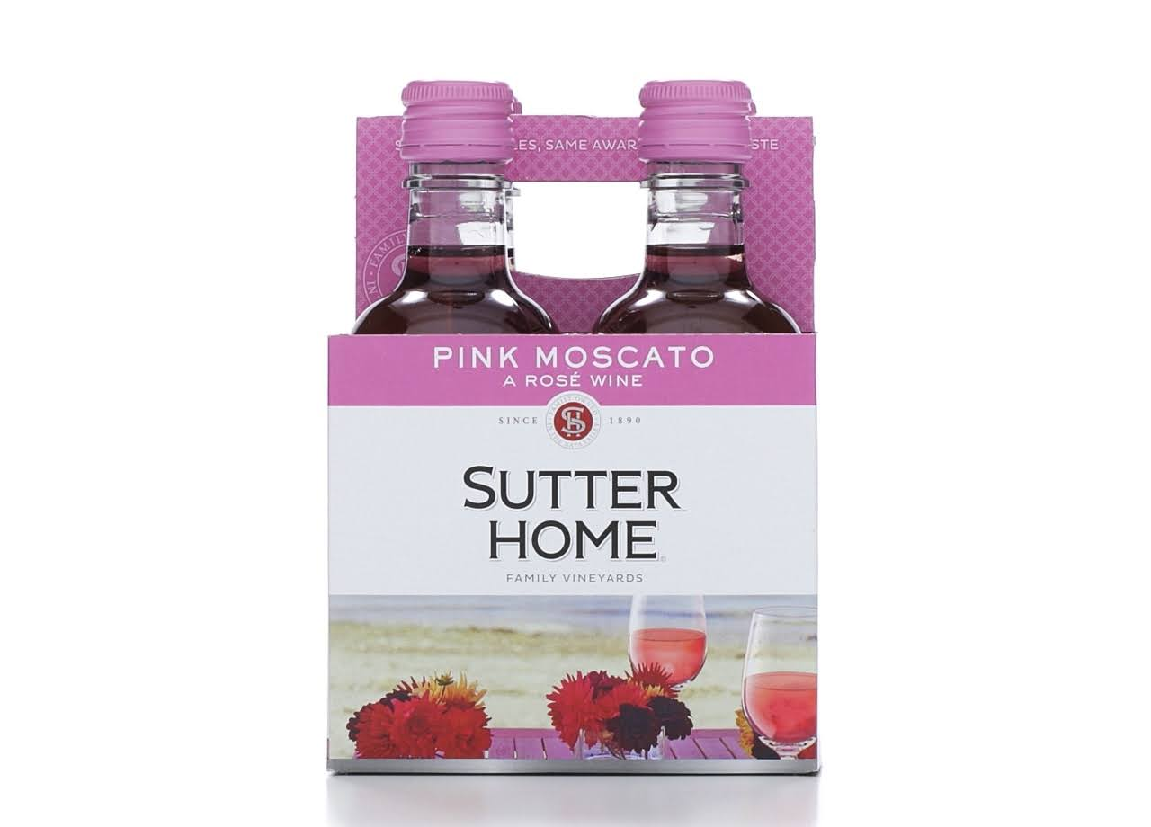 Sutter Home Winery Pink Moscato - 4 pk
