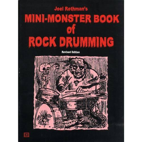 Mini-Monster Book of Rock Drumming - Joel Rothman