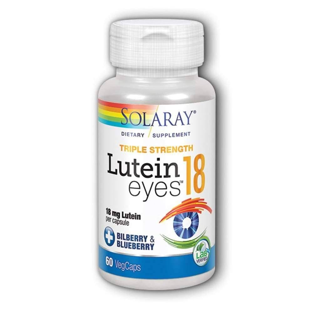 Solaray Lutein Eyes Supplement - 60 Capsules