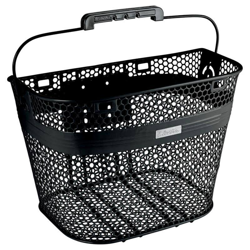 Electra Quick-Release Linear Bike Basket - Black