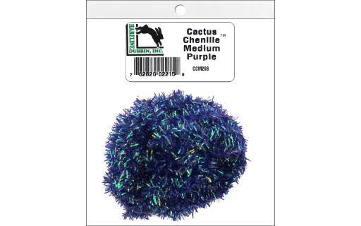 Hareline Cactus Chenille Medium Purple