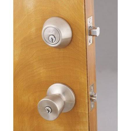 Ace Tulip Entry Lever and Deadbolt Set Satin Stainless Steel 3 Grade