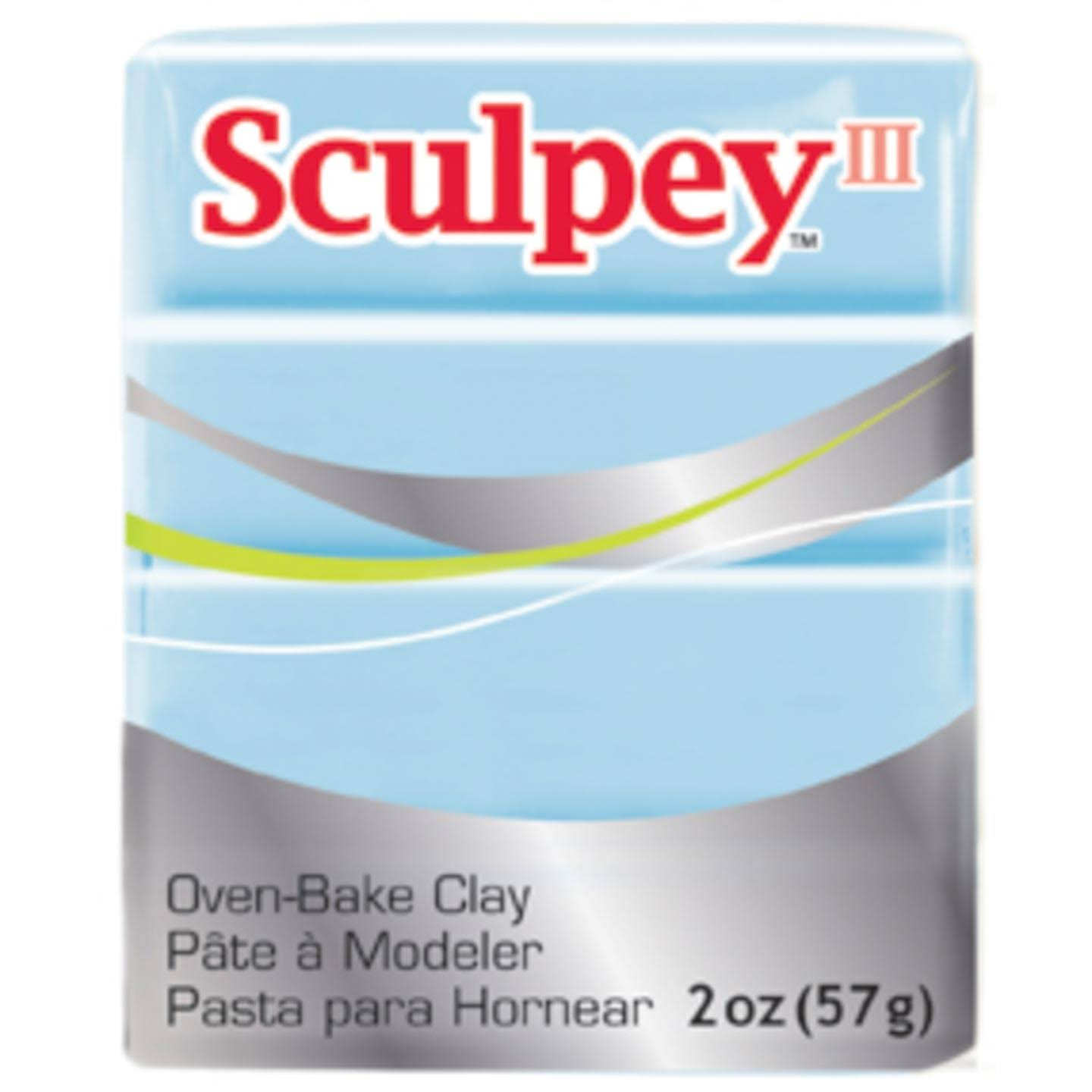 Sculpey III Polymer Clay 2oz Sky Blue