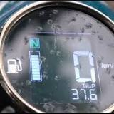 Royal Enfield, Electronic instrument cluster