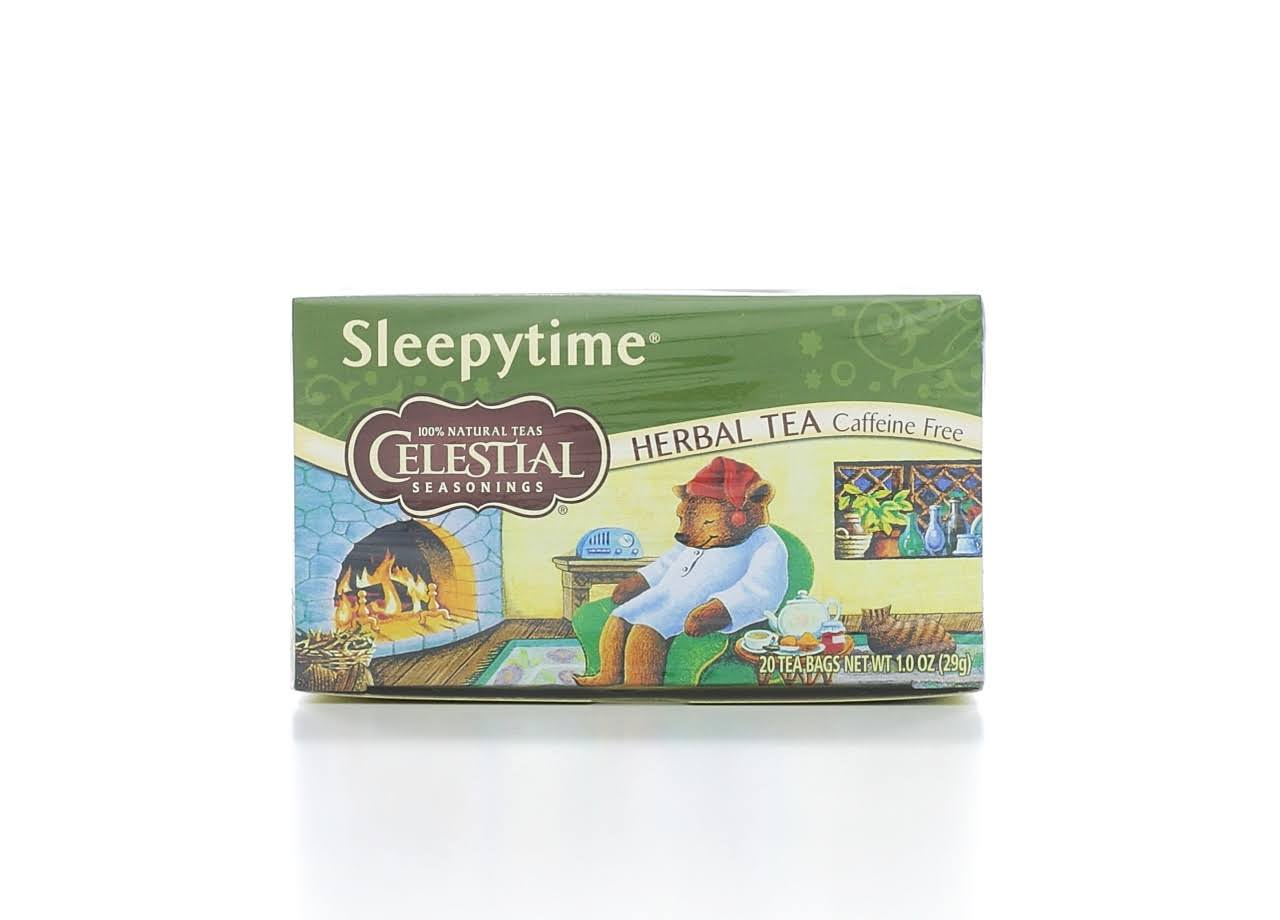 Celestial Seasonings Tea - Sleepytime Infusion, 20 Tea Bags, 29g