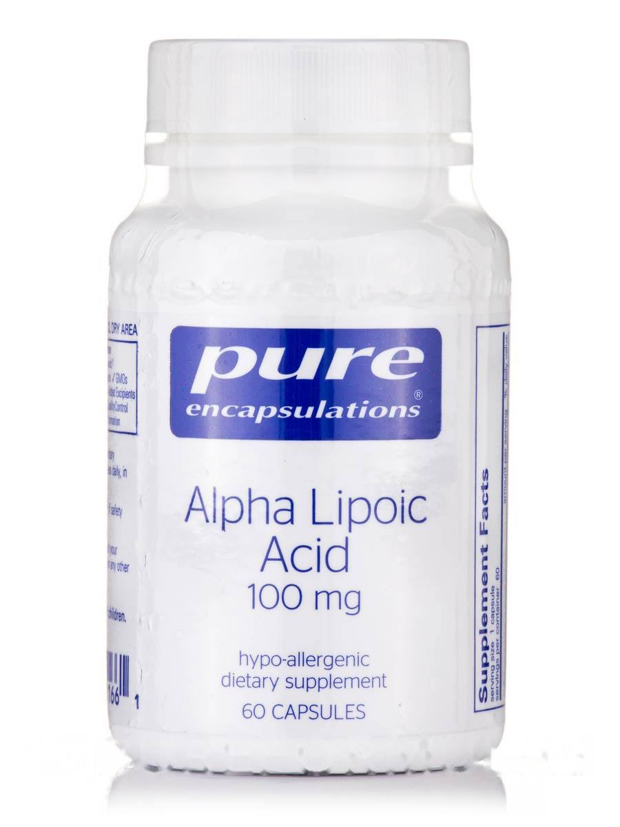 Alpha Ala 100 mg. 60's by Pure Encapsulations